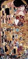 THE KISS BY KLIMT MOSAIC