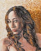 Photo made into a mosaic mural.. any image and any any sizePicture