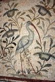 Ancient Bird mosaic mural