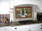 CUSTOM MADE KITCHEN BACKSPLASH MOSAIC