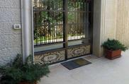 entryway door mosaic