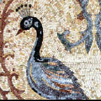 Birds, butterflies, egret, heron , peacocks Mosaics