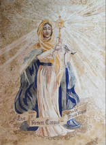 .Our Lady Mosaic