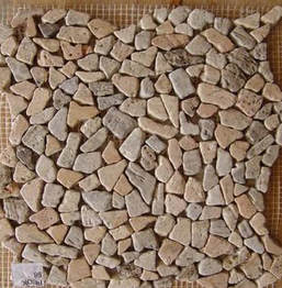 .Big stones mosaic sheet
