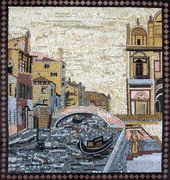 venice canals mosaic