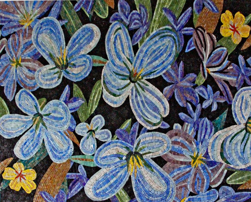 Floral Mosaics Mosaics Your Way