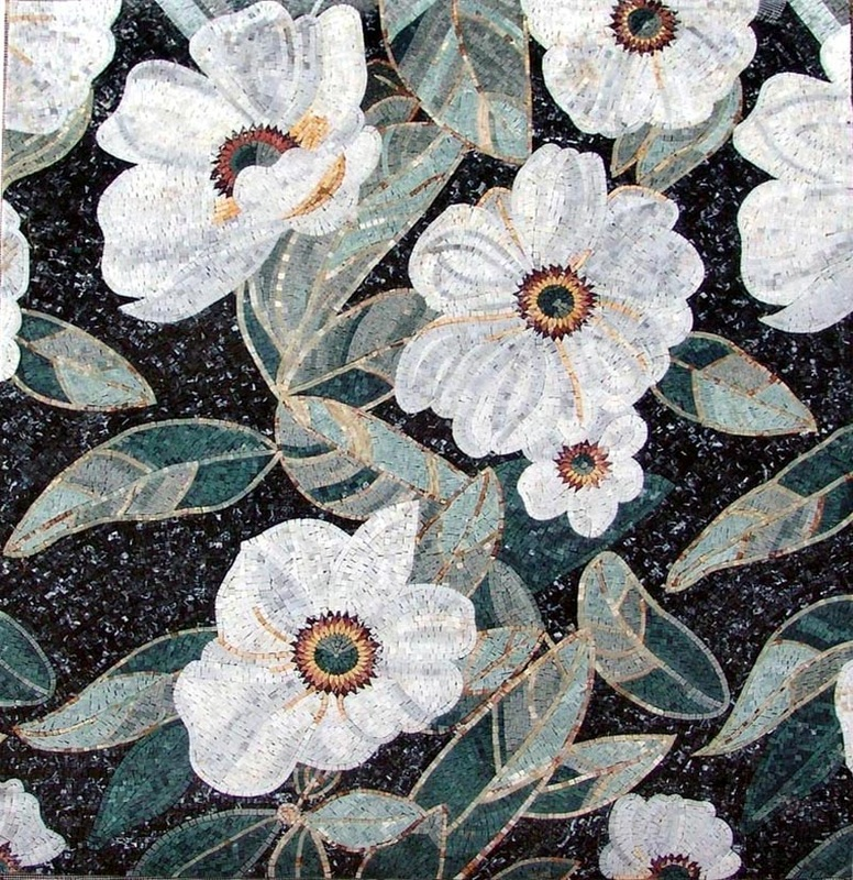 Floral Mosaics Mosaics Your Way